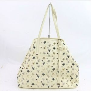 Jimmy Choo Pimlico Star Studded Tote